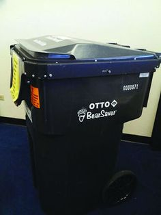 Trash cans thwart bears