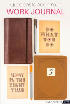 Keeping a work journal should help you become more mindful of your career. But are you asking the right questions?