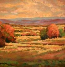 View to the West by Antonia Walker (24x30, oil)