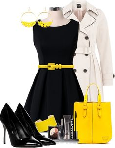 """yellow"" by boomerwashere ❤ liked on Polyvore"