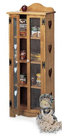 19-w1149 - Country Jelly Cupboard Cabinet Woodworking Plan…