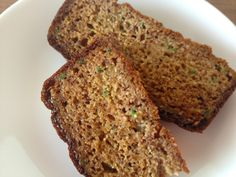Paleo Zucchini Bread- SO moist and delicious I couldn't stop eating it!!