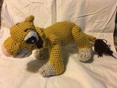 Simba - Hand crocheted - $25.00
