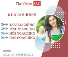 CHECKOUT THE LINK FOR MORE DETAILS ABOUT COURSES AND EXAMINATION PATTERN ETC !! http://www.thevisionias.com/