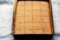 Honey-Drizzled Semolina Cake for a sweet new year/Rosh Hashana via @Cara / Big Girls, Small Kitchen