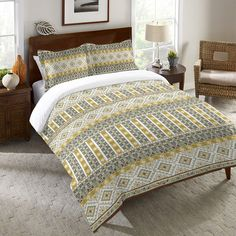 Nordic Sage Duvet Cover and Shams – Laural Home