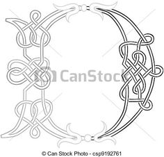 Monogram for Hand Embroidery: Celtic L - Buscar con Google