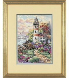 Dimensions Gold Counted Cross Stitch Kit Petite Beacon at Daybreak