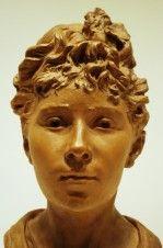Buste de Louise Claudel, sa soeur cadette par Camille.