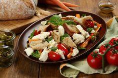 Sprawdzony przepis na Sałata z włoskiej wioski z warzywami, mozzarellą i…