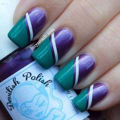 Wimbledon nail art tape manicure featuring KIKO and OPI Great Nails, Fabulous Nails, Gorgeous Nails, Love Nails, Nailart, Nagellack Design, Finger Nail Art, Manicure E Pedicure, Gel Nail Designs