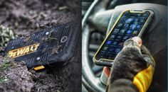 DeWalt, the Construction Company, Debuts a New 4G Android Smartphone
