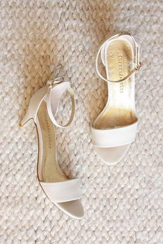 62ea6f260aa8c Ivory low heel wedding shoes for the bride, mother of the bride – Forever  Soles