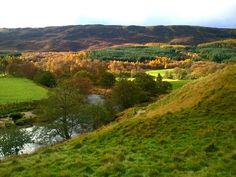 Glen Clova in Angus, Scotland