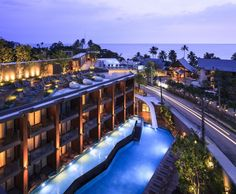KC Grande Resort & Spa by Foundry of Space, Trad – Thailand Look at those slides!