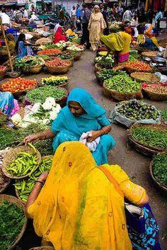 Vegi Market . India