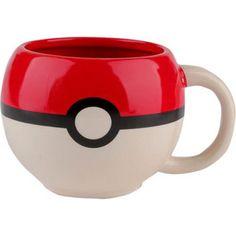 Collectables - Pokemon Pokeball Moulded Coffee Mug