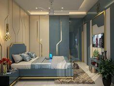 Master Bedroom Wardrobe Designs, Wardrobe Interior Design, Hall Interior Design, Master Bedroom Interior, Bedroom Closet Design, Bedroom Furniture Design, Modern Bedroom Design, Home Room Design, Luxury Interior