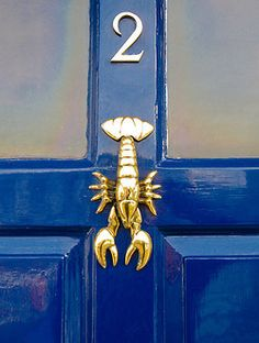 Door Knockers I already have an anchor, but if I didn't, I'm want this lobster to welcome me in every night.I already have an anchor, but if I didn't, I'm want this lobster to welcome me in every night. Door Knobs And Knockers, Brass Door Knocker, Home Living, Coastal Living, Living Room, Beach Cottages, Coastal Decor, Seaside Decor, Knock Knock