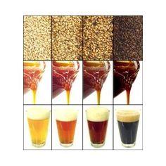Briess Crystal Caramel 40 Lovibond Malt pounds) Whole Barley Grain Brewing Recipes, Beer Recipes, Malta, Barley Grain, Home Brew Supplies, Beer Ingredients, Beer Factory, Clone Recipe, Home Brewing Beer