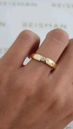Gold Finger Rings, Mens Gold Rings, Gold Rings Jewelry, Gold And Silver Rings, Mens Ring Designs, Gold Ring Designs, Ring Design In Gold, Mens Diamond Wedding Bands, Wedding Ring For Men