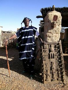 The precise  origin of the Dogon,  like those of many other ancient cultures, is undetermined. Their civilization just emerged, in much th...