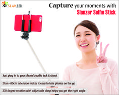 No need to connect your Bluetooth with the selfie stick anymore to operate it.