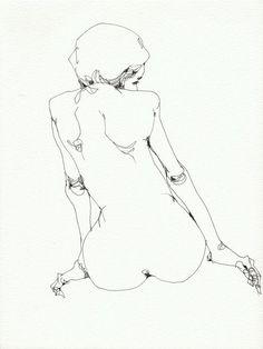 Aura - Lu Cong's ART #inkdrawing #inkdrawings #penandinkdrawing #worksonpaper #illustration #urbansketching #dibujo