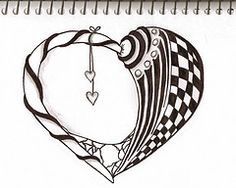 another wonderful heart doodle