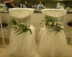 Idées pour notre futur mariage - Housse de chaise, pour les mariés