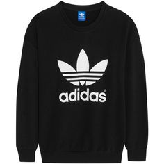 adidas Originals Trefoil cotton-blend jersey sweatshirt, Women's,... (135 SGD) ❤ liked on Polyvore featuring tops, hoodies, sweatshirts, sweaters, sweatshirt, sweat tops, relaxed fit tops, sweatshirt hoodies, sweat shirts and low tops