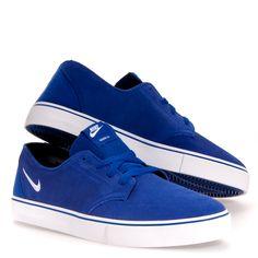 Nike Braata Lr Men's Skate Shoes: Blue 7