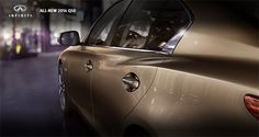 The epitome of modern luxury and design, as only Infiniti can imagine.