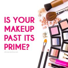 We count on beauty products to enhance our natural good looks, but if not used, stored, and replaced properly, they can cause conditions like pinkeye or acne. #makeup #safety