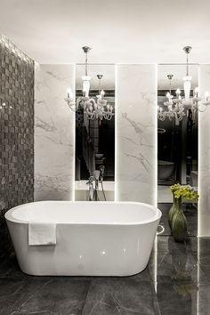Wc Bathroom, Bathroom Renos, Bathroom Renovations, Small Bathroom, Baths Interior, Luxury Homes Interior, Glamour Living Room, Wc Design, Timeless Bathroom