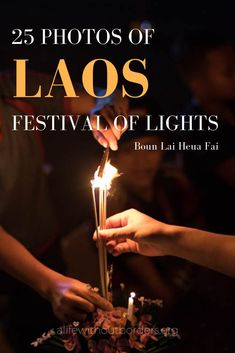 The enchanting beauty of Laos Festival of Lights (Lai Heua Fai) in photos. Every October during Boun Awk Phansa Vientiane's Mekong River transforms into a mesmerizing river of light. Laos Travel, China Travel, Solo Travel, Japan Travel, Cambodia Travel, Laos Culture, Thailand, Vientiane, Festival Lights