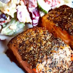 #dinner #food #salmon #grilled #salad #fish #seafood #Fisch #Lachs #Salat #instafood #foodporn #travel #Abendessen #yummy #healthy #hungry #cooking #foodie #cuisine #foodblog #foodblogger #foodphotography #photooftheday #herbs #spicy #grill #crispy #travelblog