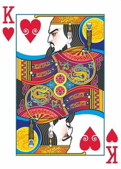 Joanne Lin is raising funds for Bicycle® Emperor Playing Cards by USPCC on Kickstarter! A playing card deck with art inspired by ancient Chinese legends. Intricate, custom designs never seen before. Cool Playing Cards, Custom Playing Cards, Cool Cards, Bicycle Cards, Deck Of Cards, Card Deck, Chinese Art, Game Design, Art Lessons