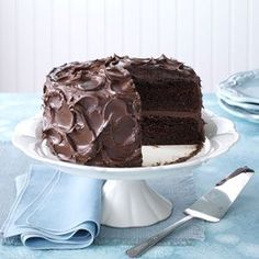 I Love Yummy Icecreams: Come-Home-to-Mama Chocolate Cake (try a chocolate cake made with pudding, buttermilk AND sour cream).