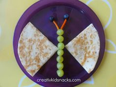Butterfly quesadillas So easy and fun for the kids! by Creative Kid Snacks