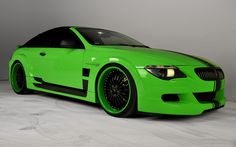 Custom Red and Black Rims   Custom Green BMW Black Rims Fast Car Picture HD Wallpaper   Auto Heed