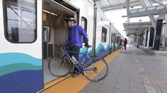 Bring your bicycle aboard Sound Transit's Link light rail.