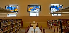 """Kessler Studios Stained Glass- """"The Journey"""" - Peru State College"""