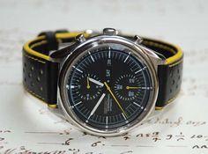 "Vintage Seiko 6138-300x - ""Jumbo""- 42mm - Automatic column wheel chronograph"