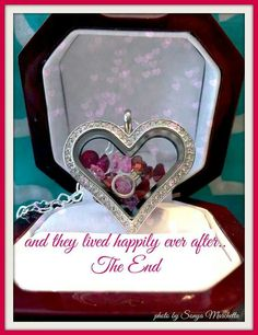 New! Heart locket---- Kimberley Wimmer Independent Designer for Origami Owl <3 Are you looking to host a Jewelry Bar, our hostess rewards are amazing! Want a job that's rewarding, fun & enjoyable- well here it is. Join my team! Send me a message if you would like to talk about Hosting a Jewelry Bar or if you want to discuss being a designer  <3  www.facebook.com/kwimmersdesigns www.kimberleywimmer.origamiowl.com/