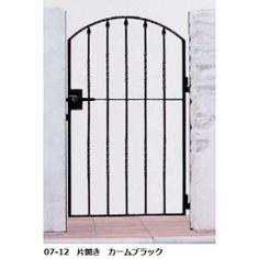 【YKKAP】YKK ap シャローネシリーズ トラディシオン門扉5型 07-12 門柱・片開きセット YKKの門扉で、自分の個性を大切に、住まいに格別のこだわりを持つ、そんな方々のニーズにお応えするのがロート