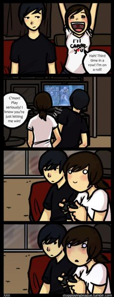 Except id be the guy.. xD