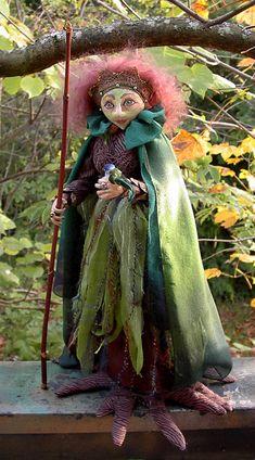 Linda Danielson fiber art doll