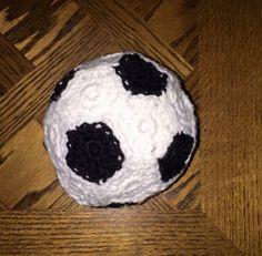 Crochet soccer ball #ldjcrochet @ldjcrochet
