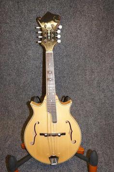 $345  Mandolin, solid wood body | Reverb